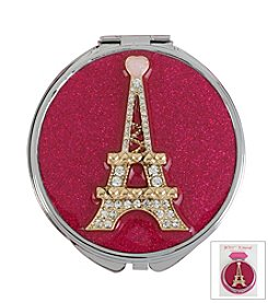 Betsey Johnson® Eiffel Tower Bling Mirror Compact