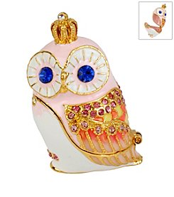 Betsey Johnson® Owl Keepsake Box In Gift Box