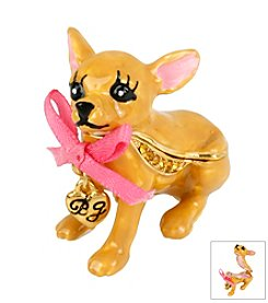 Betsey Johnson® Chihuahua Keepsake Box In Gift Box