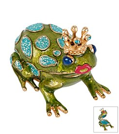 Betsey Johnson® Frog Keepsake Box In Gift Box