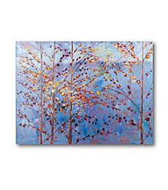 Courtside Market Blue Sky Trees Art