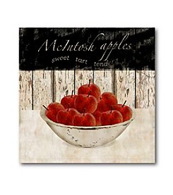 Courtside Market Macintosh Apples Canvas Art