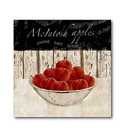 Courtside Market Macintosh Apples Canvas Art