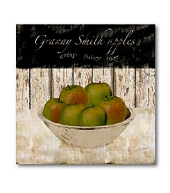 Courtside Market Granny Smith Apples Canvas Art