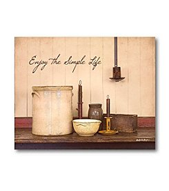 Courtside Market The Simple Life' Canvas Art