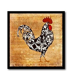 Courtside Market Rooster I Canvas Art