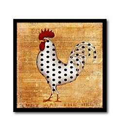 Courtside Market Rooster II Canvas Art
