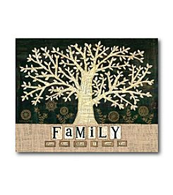 Courtside Market Family Tree Canvas Art