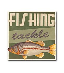 Courtside Market Fishing Tackle Canvas Art