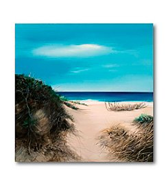 Courtside Market Sand Dunes II Canvas Art