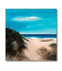 Courtside Market Sand Dunes II Canvas Art
