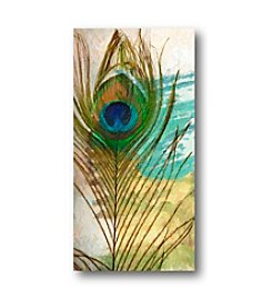 Courtside Market Feather Abstract I Art