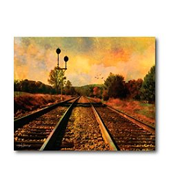 Courtside Market Country Tracks Canvas Art