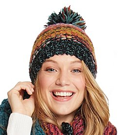 Free Spirit™ Multi Color Marled Pom Hat