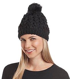 Free Spirit™ Crochet Pom Hat