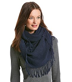 Free Spirit™ Cross Weave Loop Fringe Scarf