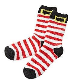Relativity® Stripe Stocking Slipper Socks