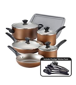 Farberware® Nonstick 15-pc. Copper Cookware Set