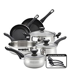 Farberware® New Traditions Stainless Steel 12-pc. Cookware Set