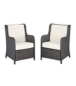 Home Styles® Riviera Wicker Conversation Chair