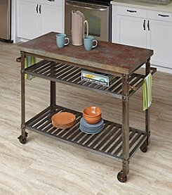 Home Styles® Urban Style Kitchen Cart Rust