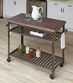 Home Styles® Urban Style Kitchen Cart Wine