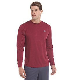 Champion® Men's Long Sleeve Heather Stripe Tee