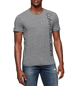 Calvin Klein Jeans Men's Short Sleeve Edi Logo Tee