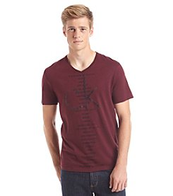 Calvin Klein Jeans® Men's Short Sleeve V-Neck Around The World Tee