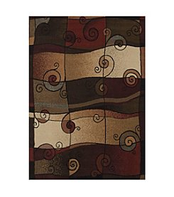 United Weavers China Garden Rhythmic Accent Rug