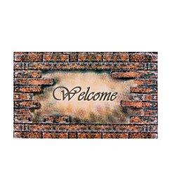 Achim Welcome Bricks Outdoor Rubber Entrance Mat