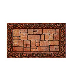 Paver Scroll Raised Rubber Mat