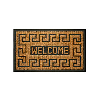 coco welcome key mat
