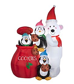 Animated Airblown® Inflatable Cookie Jar and Friends