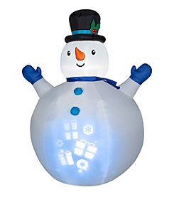 Panoramic Projection Airblown® Inflatable Snowman