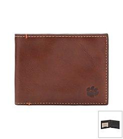 Jack Mason NCAA® Clemson Tigers Hangtime Slim Bi-fold Wallet
