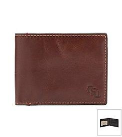 NCAA® Florida State University Hangtime Slim Bi-fold Wallet