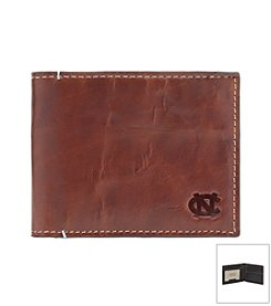 Jack Mason Men's University of North Carolina Hangtime Slim Bi-fold Wallet
