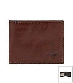 Southern Methodist University Hangtime Slim Bi-fold Wallet