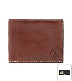 University of Louisville Men's Hangtime Slim Bi-fold Wallet