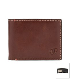 University of Wisconsin Men's Hangtime Slim Bi-fold Wallet