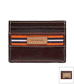 NCAA® University of Illinois Tailgate Card Case