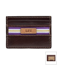 Louisiana State University Tailgate Card Case