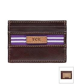 Texas Christian University Tailgate Card Case