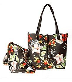 Imoshion Floral Tote & Crossbody Set