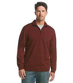 Weatherproof Vintage® Men's Long Sleeve Half Zip Wool Sweater