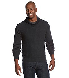 Weatherproof Vintage® Men's Shawl Collar Pullover Sweater