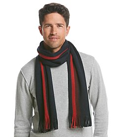 Tommy Hilfiger® Men's Textured Border Stripe Scarf