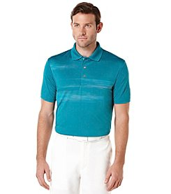 PGA TOUR® Men's Short Sleeve Iridescent Print Polo