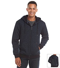 Ocean Current Men's Full Zip One Yarn Twist Sherpa Hoodie